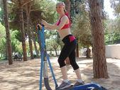 Sporty woman N 45. — Stock Photo