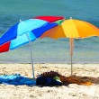Two parasols — Stock Photo