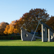 Solursparken Sun Dial Park — Stock Photo