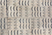 Sidewalk print pattern — Stock Photo