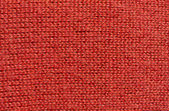 Red wool knitwork — Stock Photo