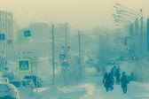 Extreme low temperature — Стоковое фото