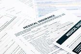 Medical insurance form, — Stock Photo