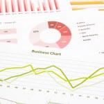 Business charts, data analysis, marketing research, global econo — Stock Photo #50158423