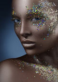 Shine and luster of the skin — Stock Photo
