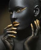 Black gold — Stock Photo