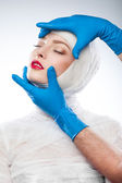 Surgery and Cosmetology — Stock Photo