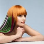 Creativity in the beauty salon — Stock Photo #45713615
