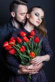 Relation between man and woman — Stock Photo