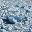 Stock Photo: Glacier melting