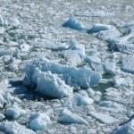 Glacier melting — Stock Photo