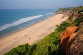 View Varkala Beach — Stock Photo