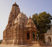 Parshavanath Jain temple at Khajuraho, India — Stock Photo