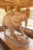 Die Steinstatue des Ebers-Varaha. Khajuraho, Indien — Stockfoto