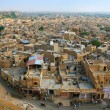 Aerial view of Jaisalmer. Rajasthan, India. — Stock Photo