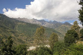 View from the Vashisht of Kullu Valley and Manali. — Stock Photo