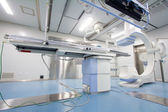 Radiology interventional catheter operation room — 图库照片