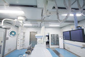 Radiology interventional catheter operation room — Stock Photo