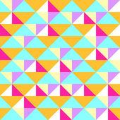 Абстрактные геометрические бесшовный фон для креативный дизайн — Cтоковый вектор