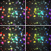 Abstract vector background. Creative dynamic element, lights and sparkles illustrations. — Stock Vector
