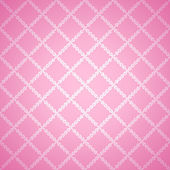 Pink cloth texture background. Vector illustration — Stock Vector