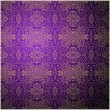 Stock Vector: Antique pattern background. Purple seamless wallpaper