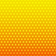 Star seamless background. Yellow and orange color — Stock Vector