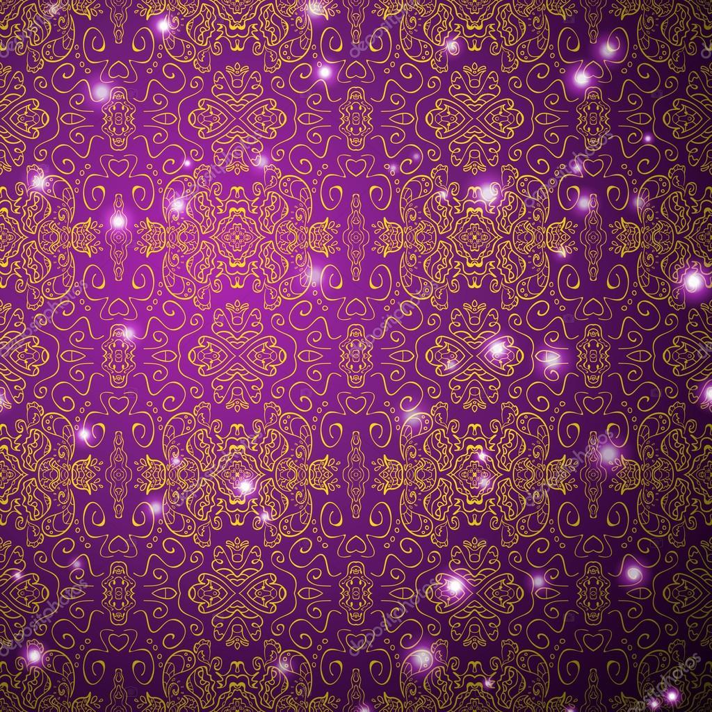 Antike hintergrundmuster nahtlose tapete lila for Tapete lila muster