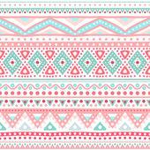 Tribal ethnic seamless stripe pattern. Vector illustration — Stock Vector