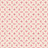 Floral vector seamless pattern (tiling). — Vector de stock