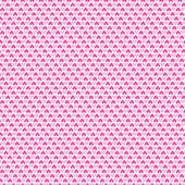 Heart shape vector seamless pattern (tiling). — Stock Vector