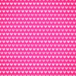 Pink fabric texture with heart seamless pattern. — Stock Vector #39724473