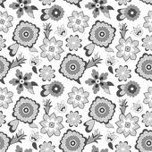 цветочный узор фона. векторные иллюстрации. — Cтоковый вектор