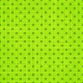 Green cloth texture background. Vector illustration. — Stock Vector