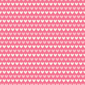 Heart shape vector seamless pattern (tiling) — Διανυσματικό Αρχείο