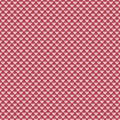 Heart shape vector seamless pattern (tiling) — Stock vektor