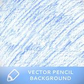Blue pencil sketch background pattern. Vector illustration — Stock Vector