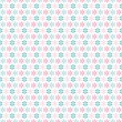 Light floral romantic vector pattern (tiling) — ストックベクタ #39916869