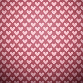 Herz form vektor nahtlose muster (fliesen) — Stockvektor