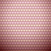 Romantic vector seamless pattern (tiling). Sweet pink — Stock vektor