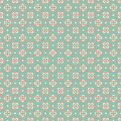 Elegant romantic vector seamless pattern (tiling). Retro pink — Stockvektor