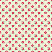 Elegant romantic vector seamless pattern (tiling). Retro pink — Stock Vector