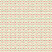 Elegant romantic vector seamless pattern (tiling). Retro pink — Vecteur
