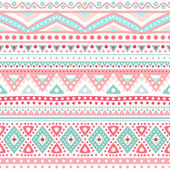 Tribal ethnic seamless stripe pattern — Stock Vector