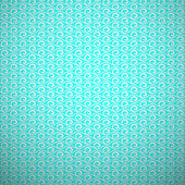 Abstract aqua elegant seamless pattern. Blue and white, aqua sty — Stockvektor