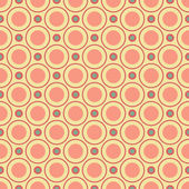 Vintage different vector seamless patterns (tiling) — Stock Vector
