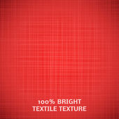 Red fabric texture. Vector illustration for your elegant design — Stock Vector