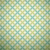 Green garden vector pattern. Abstract texture — Stock Vector