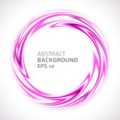 Abstract purple and pink swirl circle bright background. Vector — Stock Vector