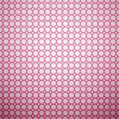 美しいベクトル パターン。ピンクと白の色 — ストックベクタ